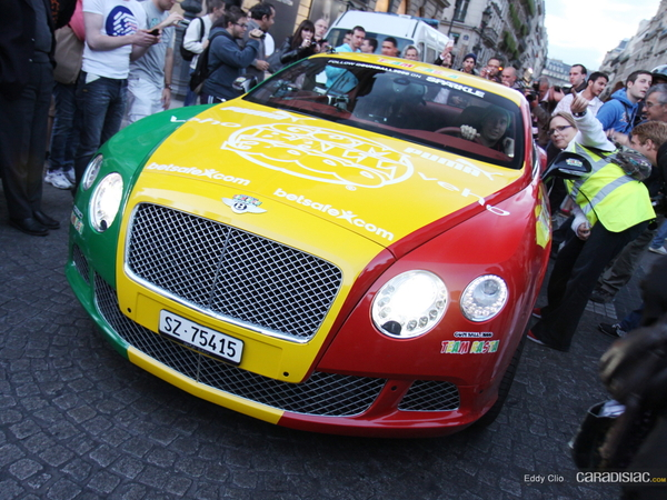 Photos du jour : Bentley Continental GT (Gumball)