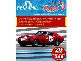 Pour fêter les 40 ans du HTTT Paul Ricard, assistez aux 10.000 tours ce week-end
