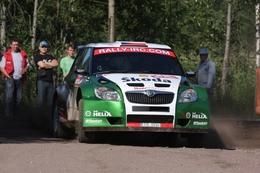 IRC/Rallye de Russie: Doublé historique pour Skoda
