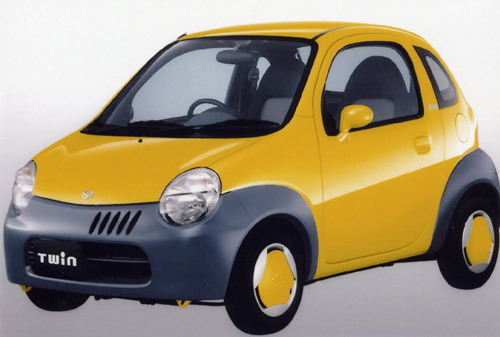 Suzuki Twin, le premier mini véhicule hybride au monde
