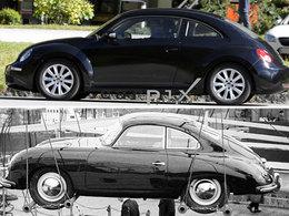 Future VW New Beetle : gueule de Porsche 356 ?