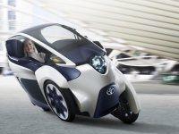 Toyota i-Road electric : nouveau trois-roues ?