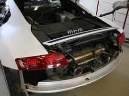 Le chantier de l'Audi R8 V10 biturbo MTM avance