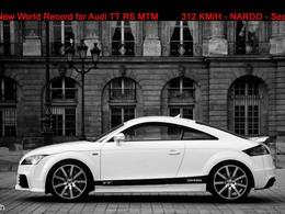L'Audi TT RS MTM pointe à 312 km/h