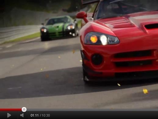 """Nürburgring : la vidéo du record de la Dodge Viper ACR en 7'12""""13"""