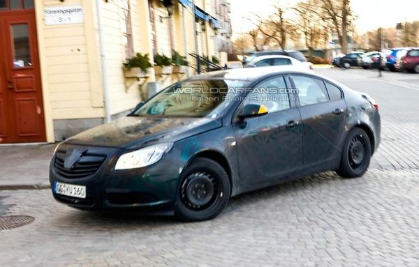 Future Opel Insignia : en plus clair