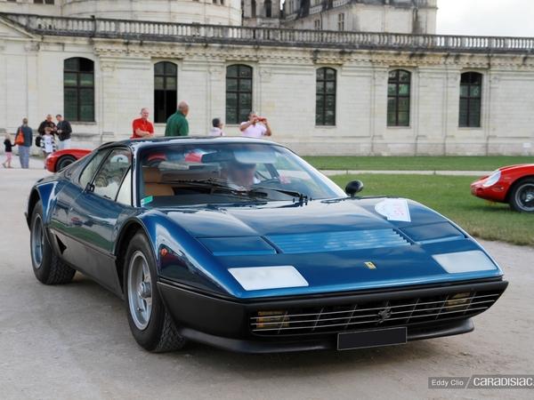 Photos du jour : Ferrari BB 512