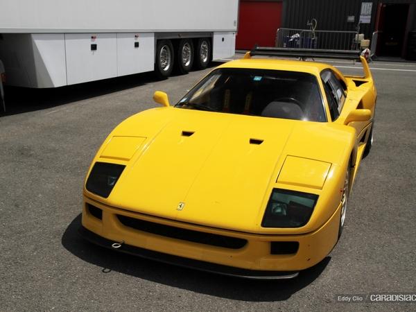 Photos du jour : FERRARI F40 (Sport & Collection)