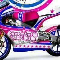 GP125 - Paris Hilton: Le nom de la rose et une ambition de Moto GP