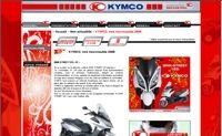 Kymco lance son nouveau site internet