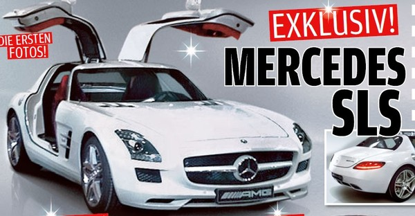 Mercedes SLS AMG : C'est elle. Une version eDrive électrique de 532 chevaux au programme !