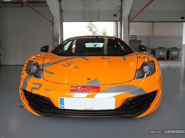 Photos du jour : Mclaren MP4-12C (GT Days)