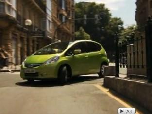 Mondial de Paris 2010 : la Honda Jazz Hybrid fait sa promo en vidéo