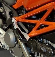 Top Block protège votre Ducati Monster.