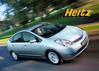 Hertz loue Prius