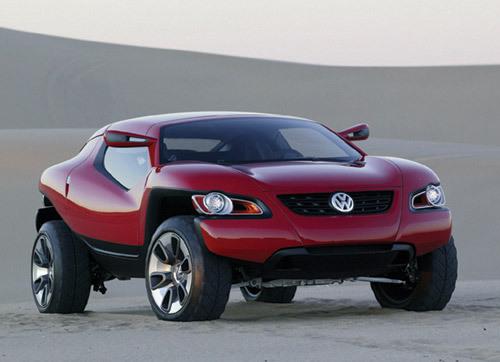 Volkswagen concept T : entre voiture de sport et SUV
