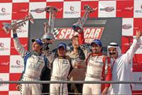 Speedcar à Dubaï: Morbidelli superstar