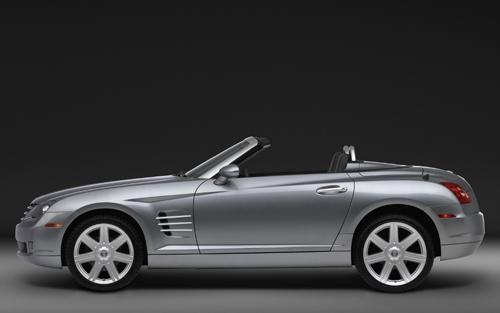 Chrysler Crossfire roadster : on enlève le haut