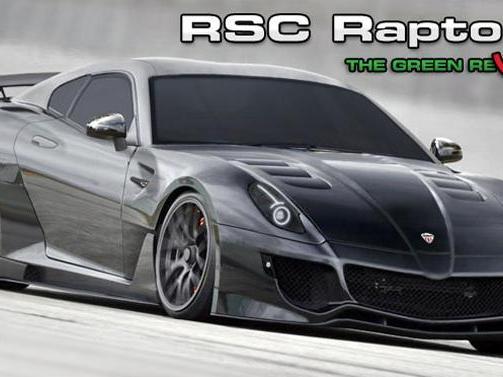 Rotary Super Cars RSC Raptor GT : avec un look de Ferrari 599 GTO et un moteur rotatif