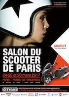 Salon du scooter et de la moto urbaine de Paris 2017 : rendez-vous les 24,25 et 26 mars à la Porte de Vincennes