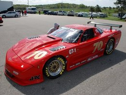 2010 SCCA Trans-Am : le tour de qualification d'une monstrueuse Corvette
