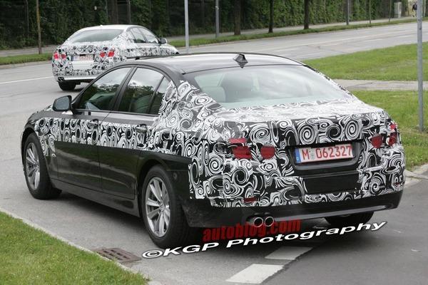 La prochaine BMW Série 5 se promène