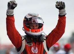 GP2 Allemagne, course 1 : Hulkenberg sur un nuage, Grosjean sur la dépanneuse