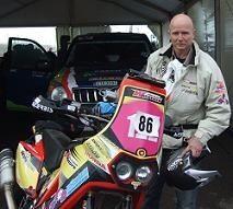 """Dakar 2010 : Eric Palante, pilote amateur """"prend le bus"""" sans être déclassé !"""