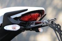 Lightech supporte les plaques d'immat' des Ducati Monster (821 et 1200)