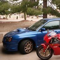 Duel: Ducati Moto GP vs Subaru WRC