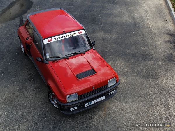 Photos du jour : Renault 5 Turbo 2 (Make a Wish)