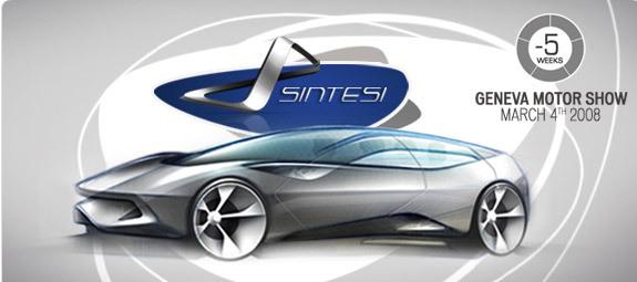 Genève 2008 : la Pininfarina Sintesi s'esquisse