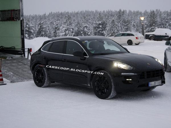 Surpris : le Porsche Macan est en classe de neige
