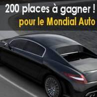Jeu-Concours Mondial de l'Automobile 2006 : gagnez 200 places !