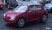 Miniature : 1/43ème - RENAULT concept-car Zoé