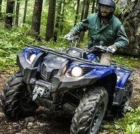Yamaha condamné pour avoir publié des images de quads en pleine nature!!