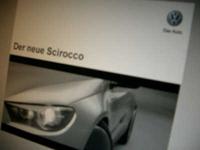 Salon de Genève. Volkswagen Scirocco, acte 1: la brochure