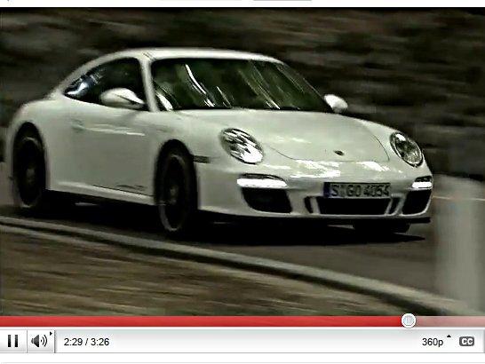 [vidéo] Mondial de l'auto 2010 : la Porsche 911 GTS en promo vidéo