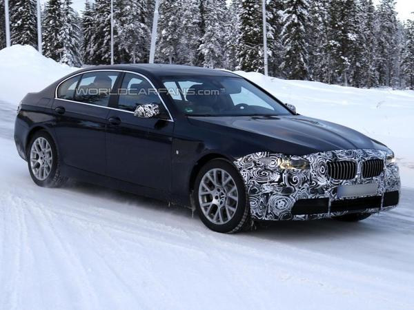 Surprise : la BMW Série 5 se repoudre le nez