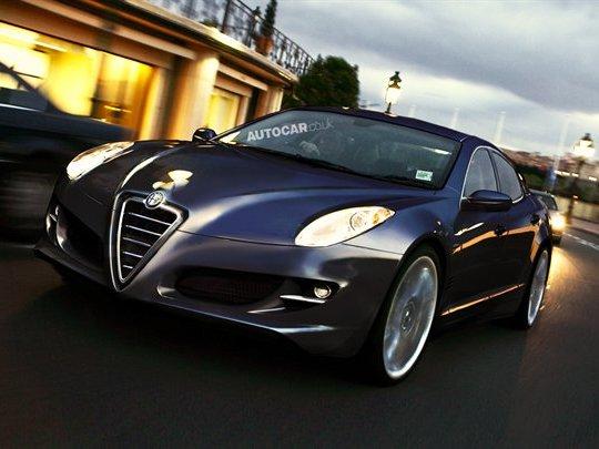 Future grande Alfa Romeo: comme ça?