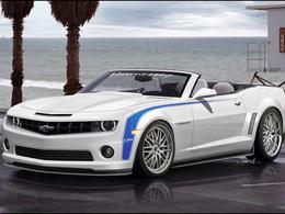 Hennessey s'attaque au cabriolet Camaro : 755 ch et des cheveux dans le vent (loin derrière l'auto)