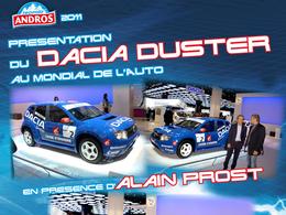 Trophée Andros 2010/2011 : Alain Prost repart en Dacia Duster
