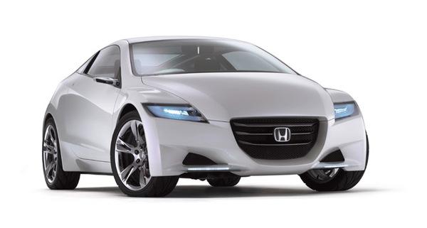 Honda CR-Z et Fit hybrides: en vente l'an prochain!