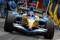 L'écurie Renault termine ses essais sur un doublé