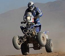 Dakar 2010 : 11ème étape, quads, triplé Argentin et Yamaha