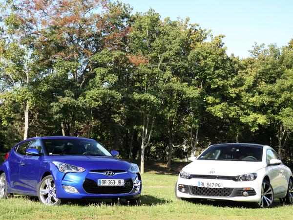 Hyundai Veloster - Volkswagen Scirocco : que de la gueule ?