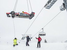 Formule 1 dans la neige: Red Bull risque une amende !