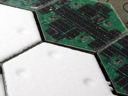 Ils lancent un projet de route à panneaux solaires