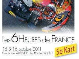 Agenda Karting - 15 et 16 Octobre : les 6h de France à Valence