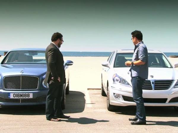 [Vidéo] La Bentley Mulsanne face à la ...Hyundai Equus ?!